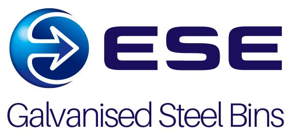 ESE Galvanised Steel Bins Retina Logo