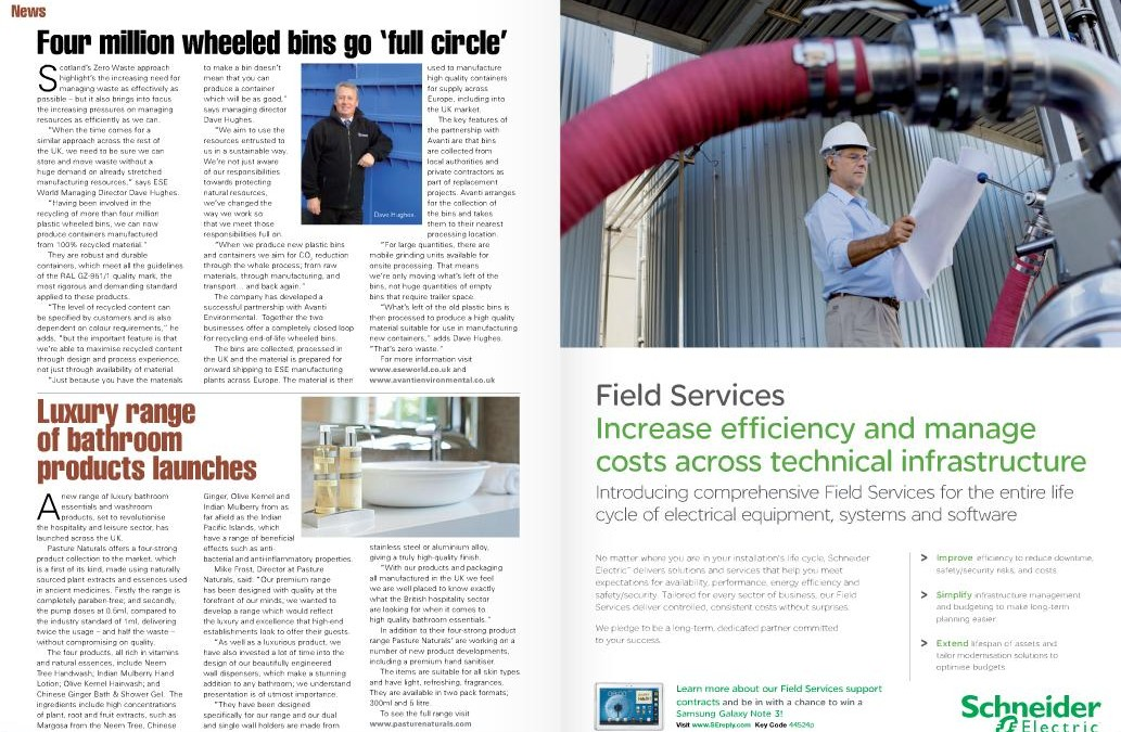 In Building and Facilities Management Magazine