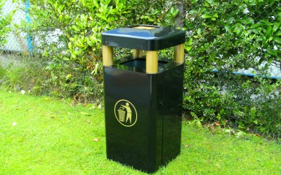 Icon: the stand out and stylish bin