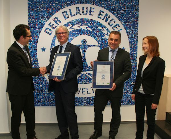 ESE Awarded The Blue Angel Ecolabel